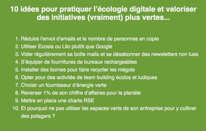 Ecologie digitale
