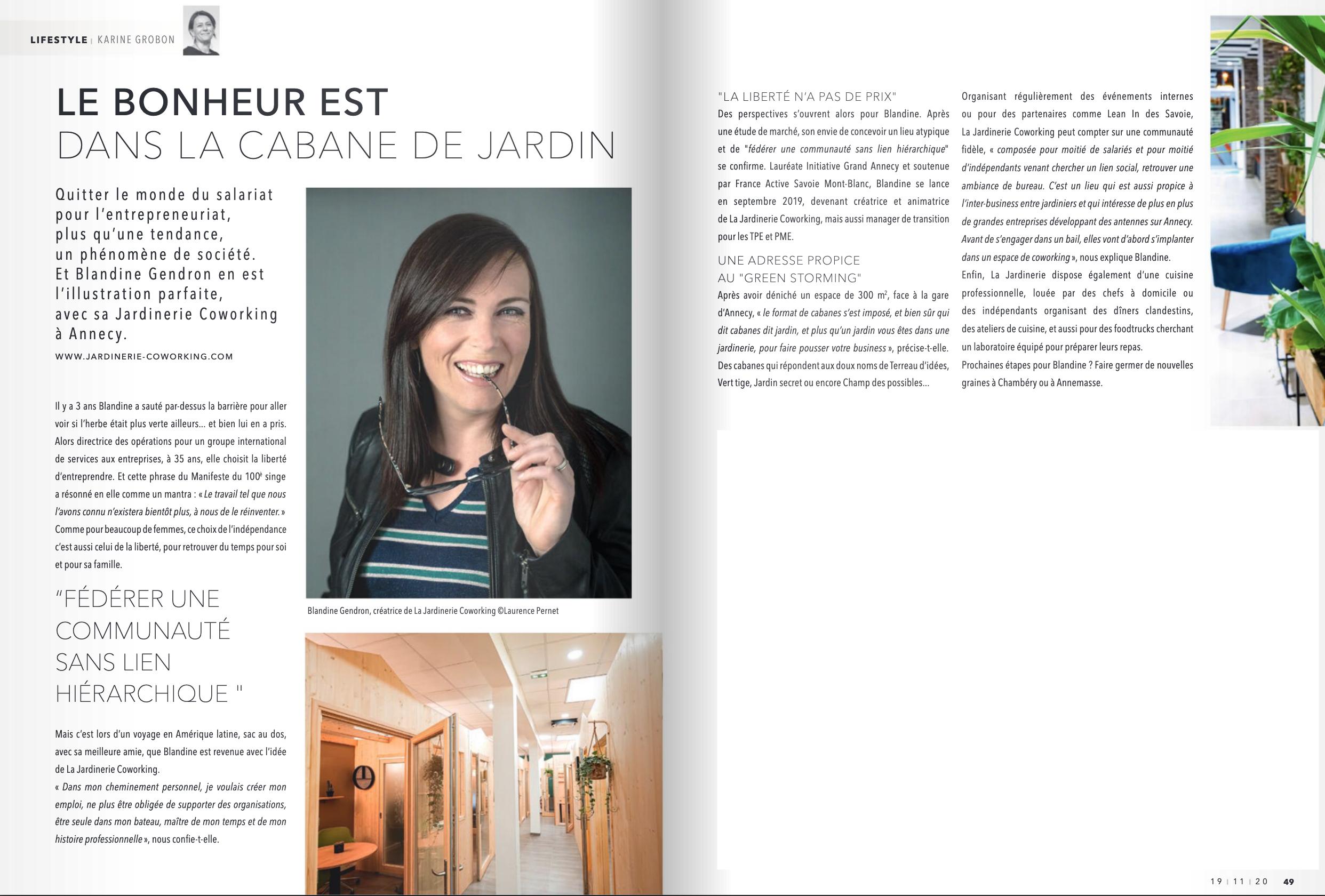 Blandine Gendron Jardinerie Coworking Nov. 20